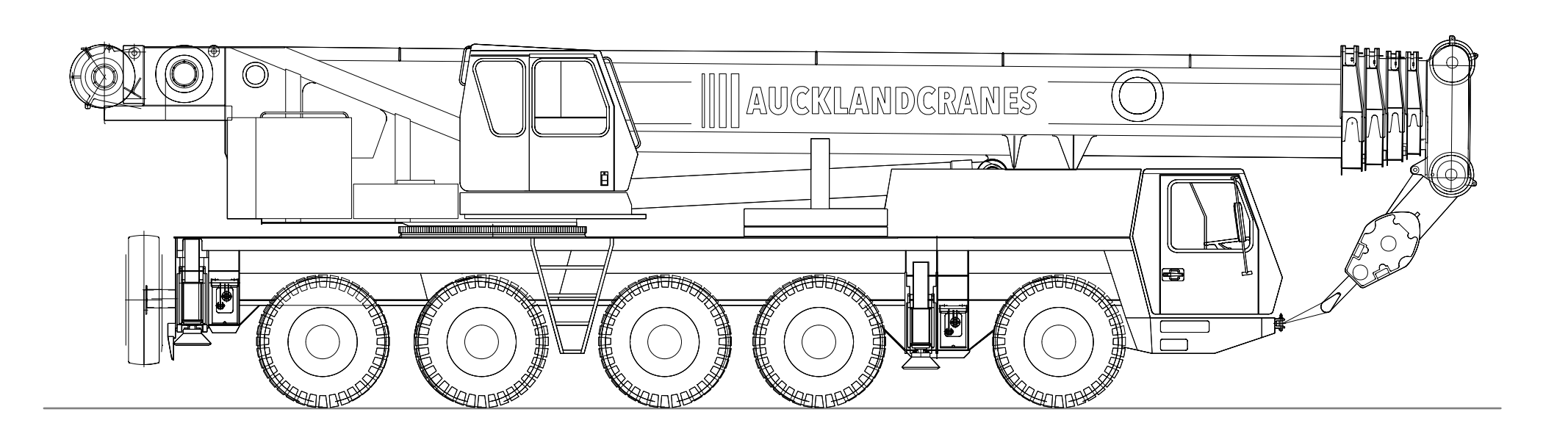 GROVE GMK 5100