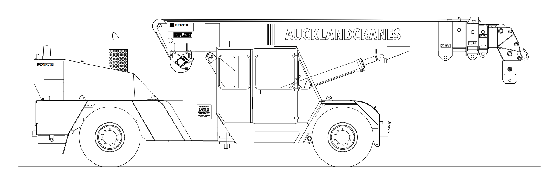 TEREX MAC 25-3